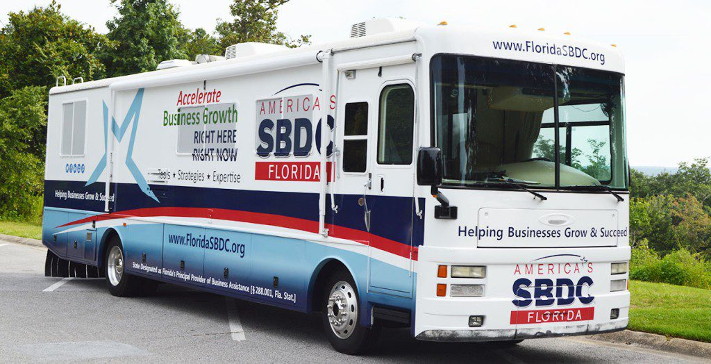 Florida SBDC Mobile Assistance Center. In the event of a disaster, the Florida SBDC will deploy its mobile assistance centers to provide on-site recovery assistance for small businesses.