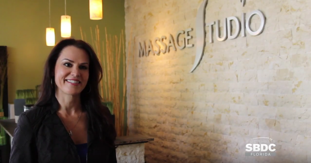 Since Veronica Swiatek, owner of Tampa-based Massage Studio, began working with the FSBDC at USF, she has added 18 employees and nearly tripled revenues. Due to the advice offered by her FSBDC consultants, she landed a $194,000 SBA loan to assist in opening her next location.
