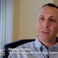 Marco Fortini, Optimum Springs Manufacturing - a Florida SBDC at UNF Success Story