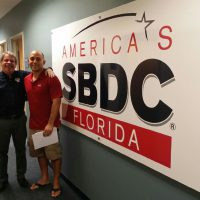 Sebastian Castelli, owner of Castelli Chiropractic Care, worked with the Florida SBDC at UNF to secure an emergency bridge loan for his business following Hurricane Irma.