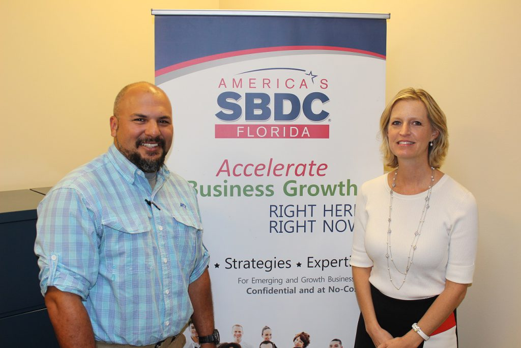 Luis Silva, owner of Sod Depot, turned to the Florida SBDC at UCF for help securing a bridge loan following Hurricane Irma.