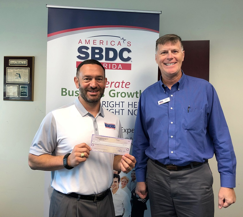 VetCore Services, a Florida SBDC at USF client, recently received a Florida Small Business Emergency Bridge Loan for economic injury from Hurricane Irma