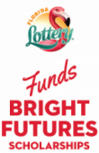 Florida Lottery Funds Bright Futures Scholarships Logo