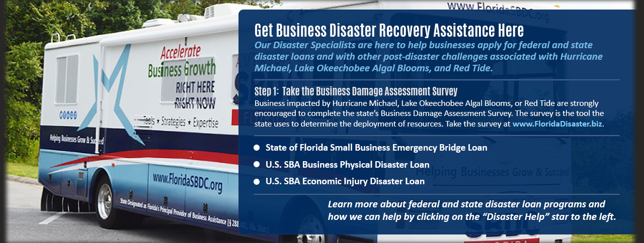 Get Business Disaster Recovery Assistance Here