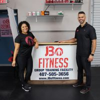 Johnny and Raquel Bonilla, owners of JBoFitness, a Florida SBDC at UCF success story
