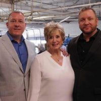 Owners of Sunshine Peanut Company and U.S. SBA Administrator Linda McMahon