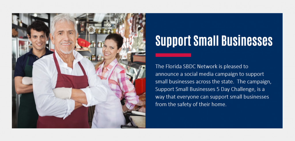 Support Small Business 5 Day Challenge