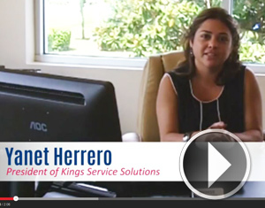 Yanet Herrero, President of Kings Service Solutions