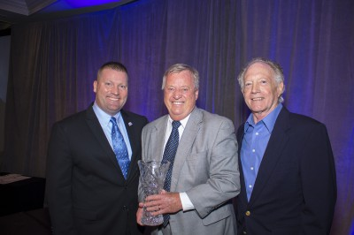 L-R: FSBDC State Director Michael Myhre, Dan Regelski, and Jerry Cartwright