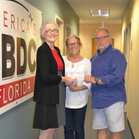 Carole Emerson, VP/Secretary of Chowder Teds Restaurant in Jacksonville secures Florida Emergency Bridge Loan