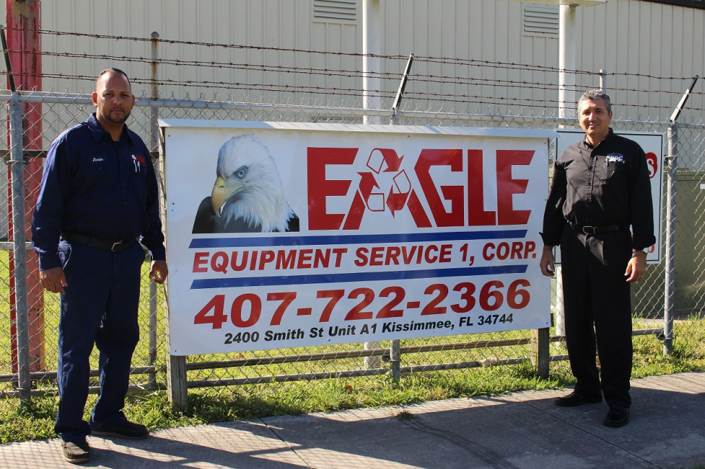 Eagle Equipment Services with Rafael Martinez Pratts, a consultant with the Florida SBDC at UCF