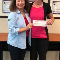 Cristen Mendoza (right), President of A Family Dentistry P.A., worked with the Florida SBDC at USF to secure an emergency bridge loan for the business following Hurricane Irma.