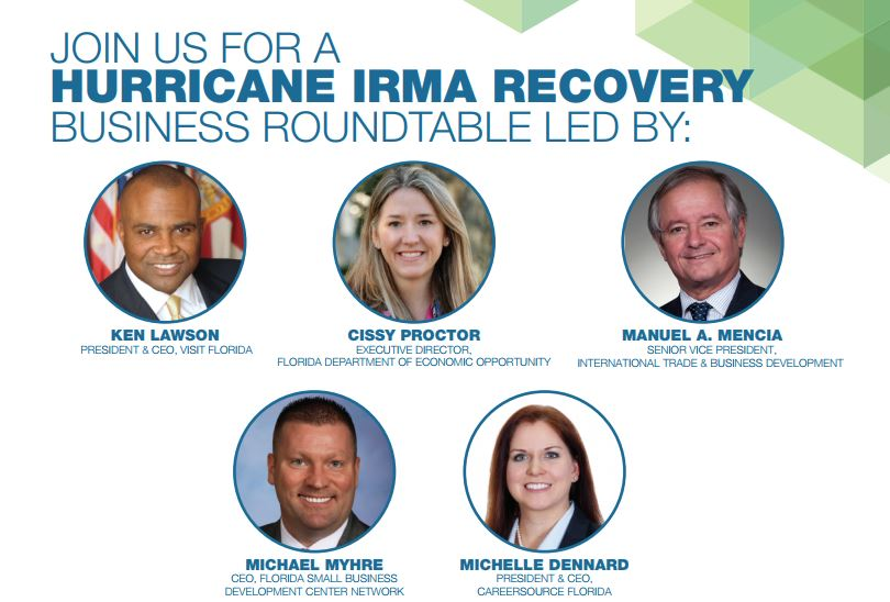 Hurricane Irma Business Recovery Roundtables