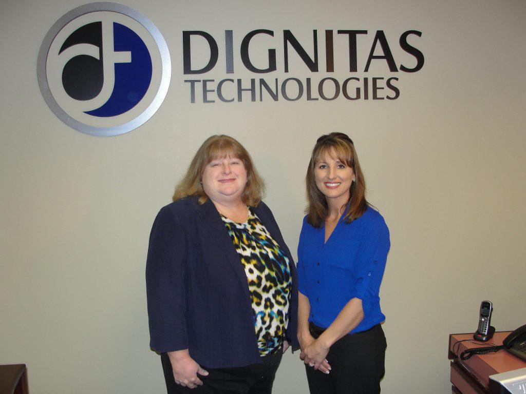Florida SBDC at UCF Advisory Board Council Program Manager Jill Kaufman and Elizabeth Burch, Dignitas Technologies