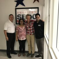 Gratitude Training owner Josephine Englesson and Florida SBDC at Fort Lauderdale consultants