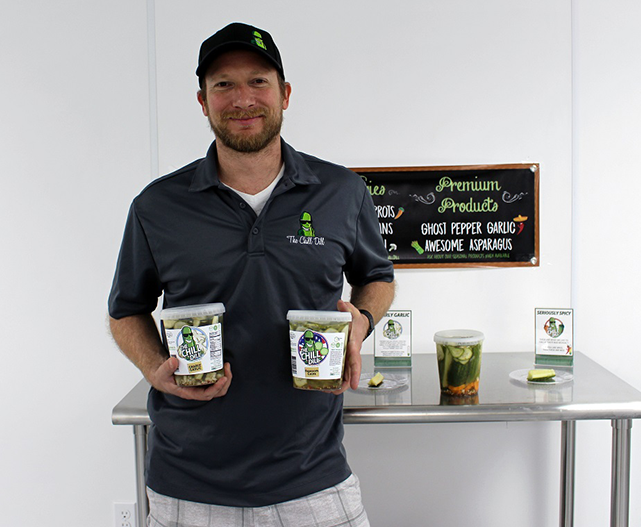 James Dauenheimer, co-owner of The Chill Dill