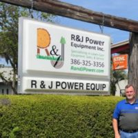 Ralph Sevearance, owner of R&J Power Equipment, a client of the Florida SBDC at UNF