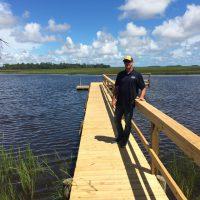 Owner of Johnsons Marine Coastal Construction