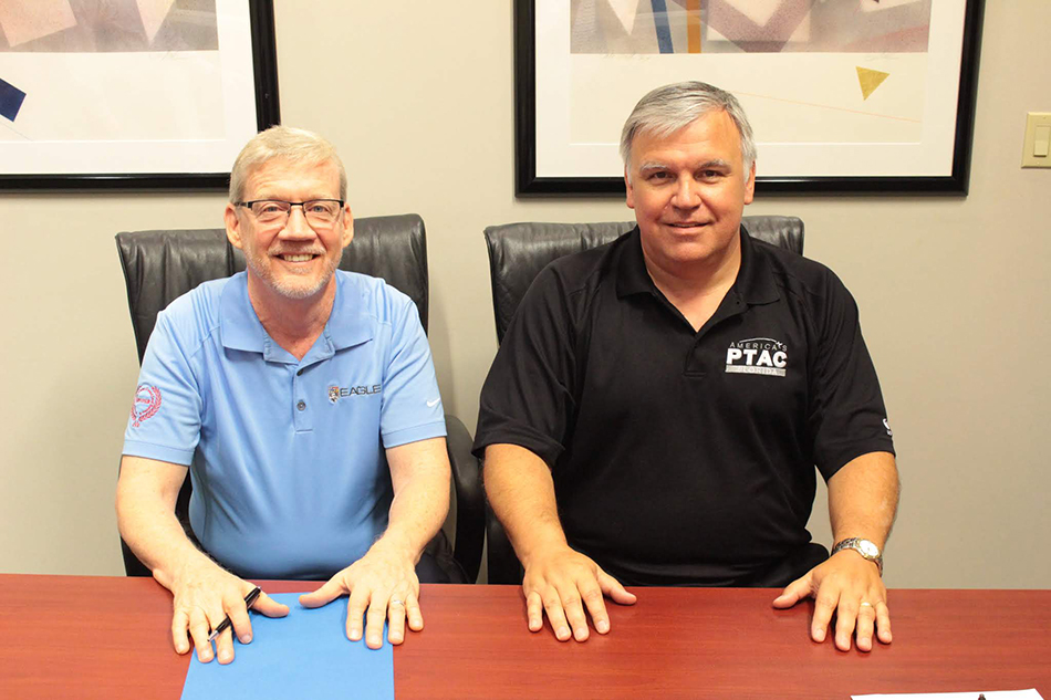 John Burns, owner of Eagle 6 Technical Services, a client of the Florida PTAC at UCF